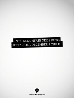 Joel: DC Quote